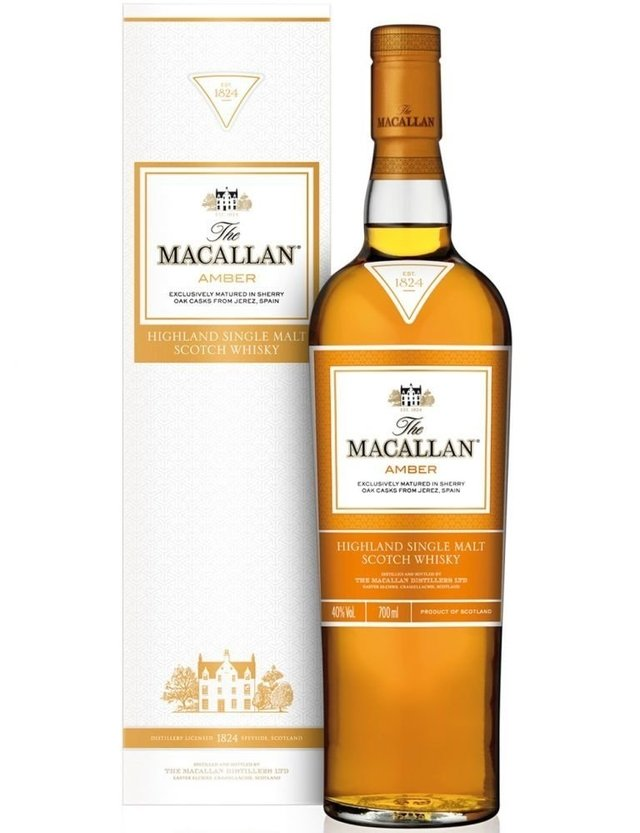 Macallan Amber 750 cc Whiskies