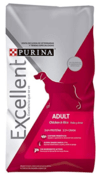 PURINA EXCELLENT Adult chicken & rice x 3 kilos
