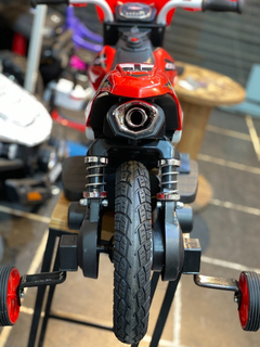 Moto A Bateria Crf New Dakar 6v Usb Sd Rueda Goma Suspension