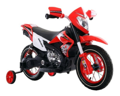 Moto A Bateria Crf New Dakar 6v Usb Sd Rueda Goma Suspension - Importcomers