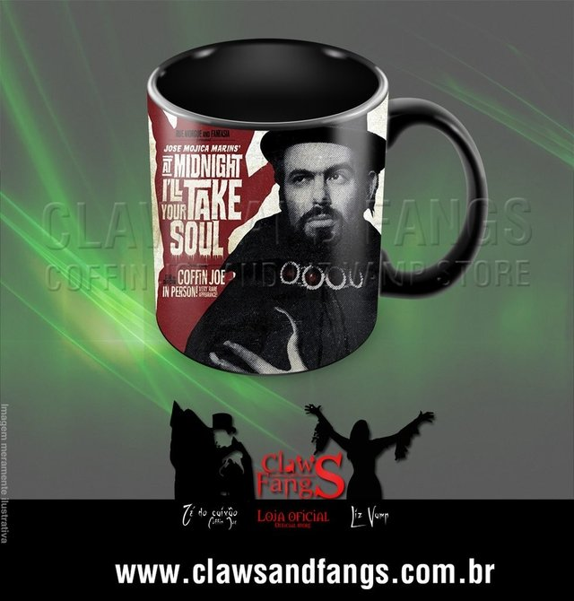 Mug - At the midnight i'll take your soul - buy online
