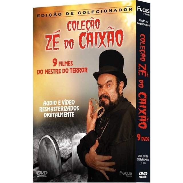 Box DVD Collection Coffin Joe (9 Disks) - Autographed