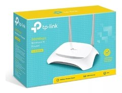 Router Wifi TP LINK  Tl Wr840n 300mbps 2 Ant 840 N Repetidor - Shoppingame