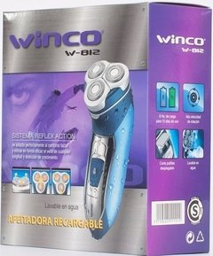 Afeitadora Electrica WINCO Recargable Maquina de Afeitar W812 - SHOPPING GAME