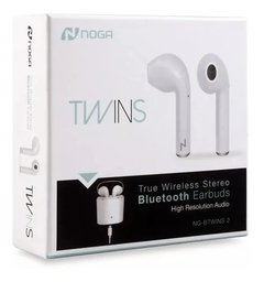 Auriculares in ear Bluetooth NOGA Twins2 blanco - Shoppingame