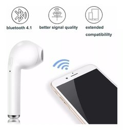 Auriculares Bluetooth Inalambricos I7S 5.0 In ear con Base Recargable - tienda online