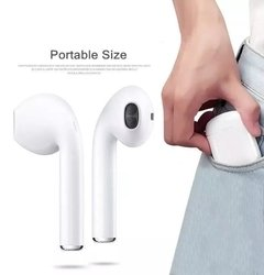 Auriculares Bluetooth Inalambricos I7S 5.0 In ear con Base Recargable