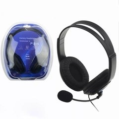 Auricular Playstation 4 Ps4 Pc Vincha con Microfono - SHOPPING GAME