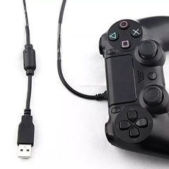 Cable de Carga Joystick Playstation 4 Ps4 Celular Usb c/filtro en internet