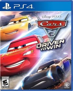 Cars 3 Ps4 Fisico Sellado Original
