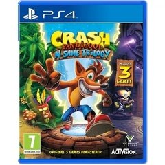 Crash Bandicoot Nsane Trilogy Ps4
