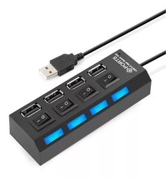Hub 4 Puertos Usb con Switch On/Off - comprar online