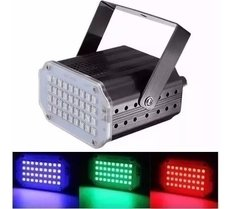 Flash Led Mini Audioritmico Blanco Dj Iluminacion Fiestas Eventos en internet