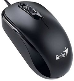 Mouse GENIUS Dx-110 Usb 1000 Dpi Optico Negro