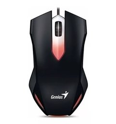 Mouse Gamer Led Retroiluminado GENIUS X G200 Usb Led 1000dpi