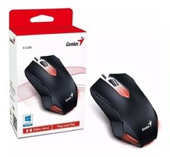 Mouse Gamer Led Retroiluminado GENIUS X G200 Usb Led 1000dpi - tienda online