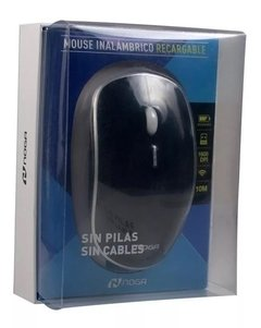 Mouse Inalambrico Recargable Pc Notebook Bateria NOGA Ngm-700r - SHOPPING GAME