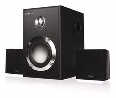 Parlantes Pc 2.1 Home Theater Tv Dvd Madera Subwoofer 15w NOGA E3009 - comprar online