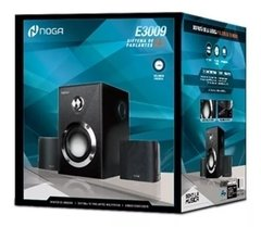 Parlantes Pc 2.1 Home Theater Tv Dvd Madera Subwoofer 15w NOGA E3009 en internet