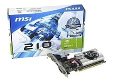 Msi Placa Grafica Gt210 1gb Ddr3 Lp 912-v809-2808 Hdmi Vga