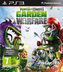 Plants Vs Zombies Garden Warfare Ps3 Fisico Sellado Original