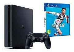 Playstation 4 Ps4 Sony de 1Tb Fifa 2019 + Joystick