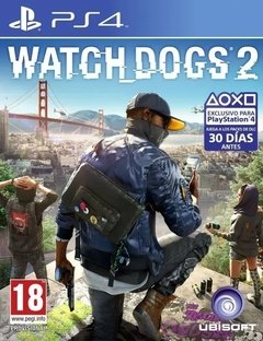 Juego Playstation 4 Watch Dog 2 Ps4 Fisico Original Sellado Nuevo