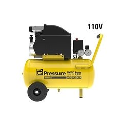 Moto Press Compressor De Ar 8,2 Pés 24lts Pressure 110v