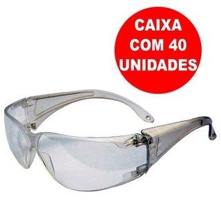 40 Óculos De Proteção Harpia Incolor Epi