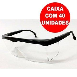 40 Óculos De Proteção Imperial Incolor Epi