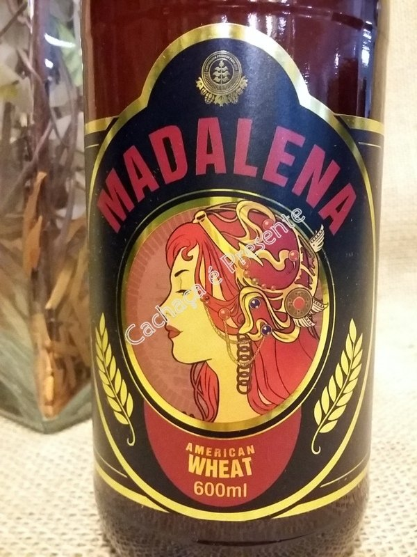 CERVEJA MADALENA AMERICAN WHEAT 600ML - 01153 na internet