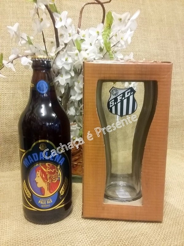 KIT SANTISTA CERVEJA MADALENA APA 600ML - K1152902 na internet