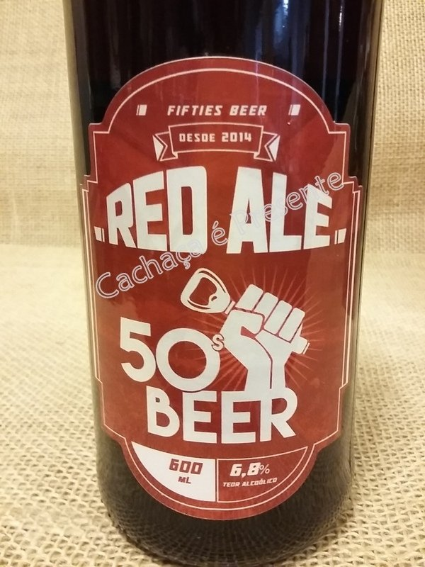 CERVEJA FIFTIES BEER RED ALE 600ML - 01173 - comprar online