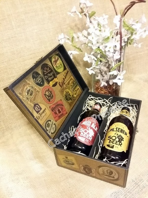 Imagem do KIT CAIXA 2 CERVEJAS FIFTIES BEER PILSENER/RED ALE - K1131PR