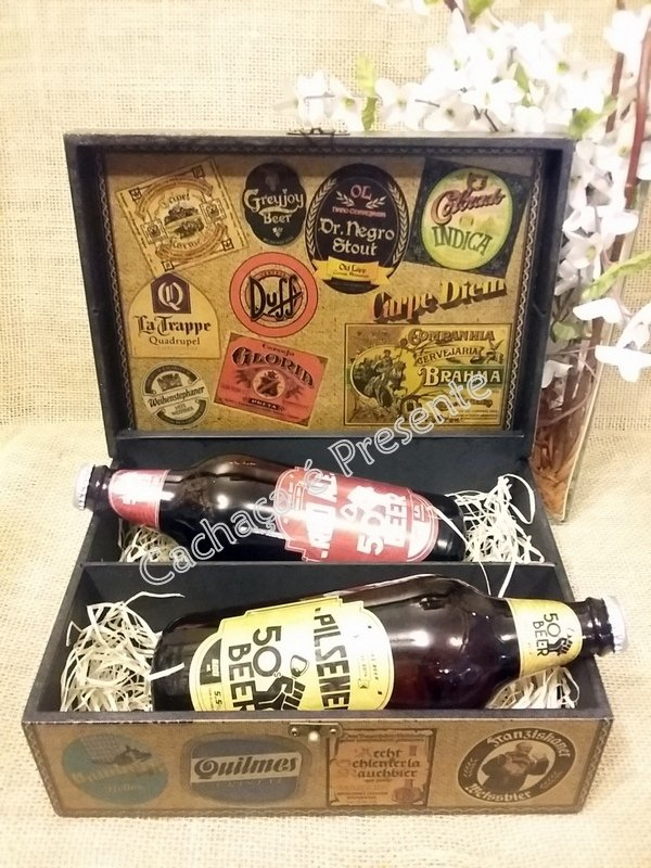 KIT CAIXA 2 CERVEJAS FIFTIES BEER PILSENER/RED ALE - K1131PR - comprar online