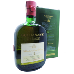 Whisky Buchanans Deluxe Aged 12 Years 1 Litro Escócia - comprar online
