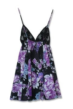 Camisolín FANCY VIOLET FLOWER - buy online
