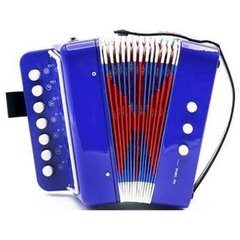 Mini Acordeon Instrumento Musical Infantil - Custom na internet