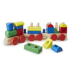 Trem Multiformas de Madeira Stacking Train - Melissa and Doug