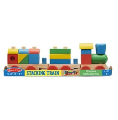 Imagem do Trem Multiformas de Madeira Stacking Train - Melissa and Doug