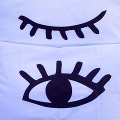 Fundas Almohada Eyes - Outlet en internet