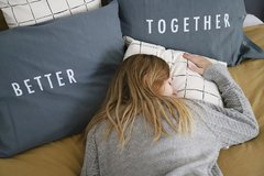 Fundas Almohada Better Together Gris - Langosta
