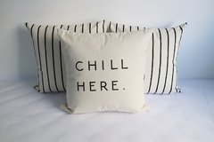 Pack x 3 Almohadones: chill here - rayitas en internet