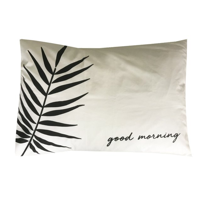 Fundas Almohada Good Morning - Good Night