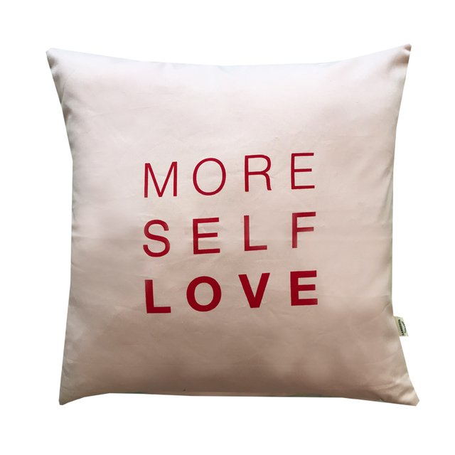 Almohadon More Self Love Rosa