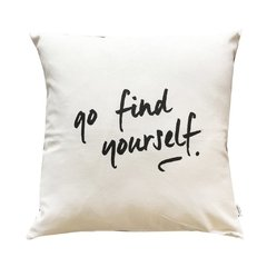 Almohadon Find Yourself