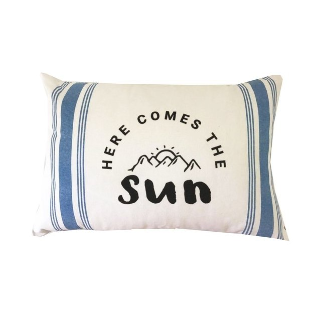 Almohadon Here comes the sun - Outlet