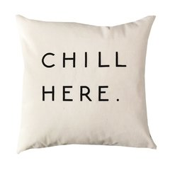 Pack x 3 Almohadones: chill here - lunares en internet