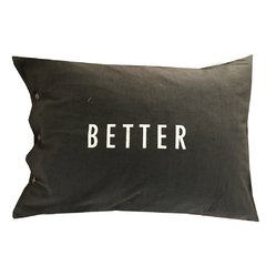 Fundas Almohada Better Together Gris