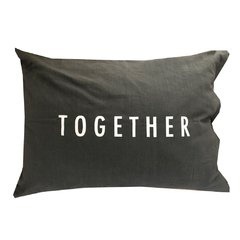 Fundas Almohada Better Together Gris - comprar online